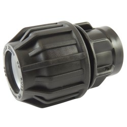 "Manchon compression plastique taraudé 16x1/2"" - raccord de tube PE - RS-Pompes."