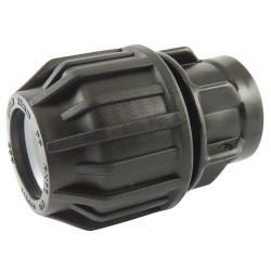 "Manchon compression plastique taraudé 16x3/4"" - raccord de tube PE - RS-Pompes."