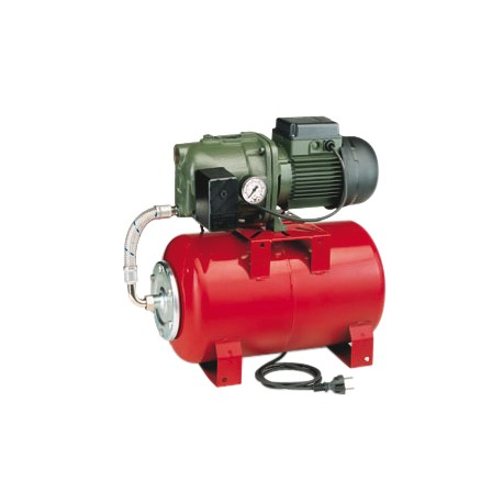 Groupe AQUAJET 82/20 monophasé - DAB - réservoir à vessie rouge - Groupe de surpression - RSpompe.