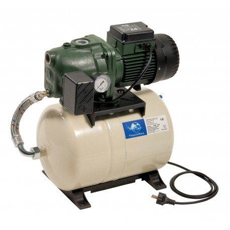 Groupe AQUAJET 102/20 M GWS monophasé - DAB - réservoir à diaphragme - groupe de surpression - RSpompe.