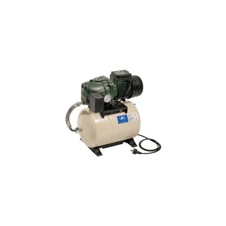 Groupe AQUAJET 82/20 monophasée avec réservoir à diaphragme - groupe de surpression - RSpompe.