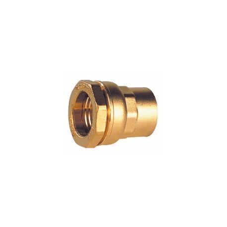 """Raccord laiton femelle pour tube PE 20 - 1/2"""" - DECA - raccord laiton - RSpompe."""
