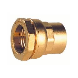 """Raccord laiton femelle pour tube PE 25 - 3/4"""" - DECA - raccord laiton - RSpompe."""