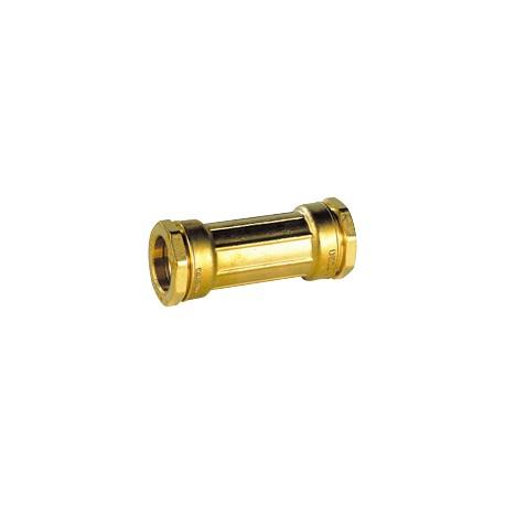 Manchon de réparation laiton pour tube PE diam 25 - DECA - raccord laiton - RSpompe.