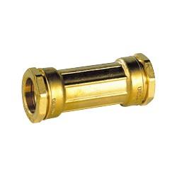 Manchon de réparation laiton pour tube PE diam 50 - DECA - raccord laiton - RSpompe.