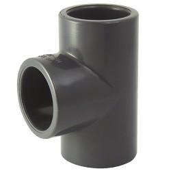 Té PVC coller 110x110x110 - CODITAL - raccords PVC - RSpompe.