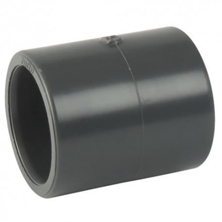 Manchon PVC égal à coller 63x63 - CODITAL - raccords PVC - RSpompe.