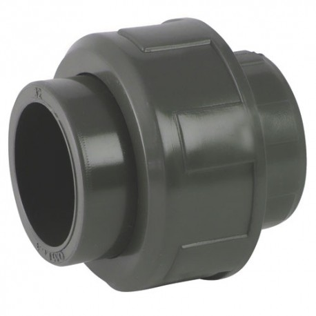 Union PVC égal à coller 40x40 - CODITAL - raccords PVC - RSpompe.