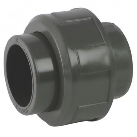 Union PVC égal à coller 90x90 - CODITAL - raccords PVC - RSpompe.