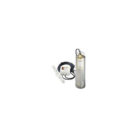 Pompe immergée SRM 6/100 monophasée - BBC - pompe de puits - RSpompe.