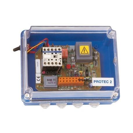 Coffret  PROTEC 2 marche forcée bouton poussoir - Jetly - protection manque d eau- RSpompe