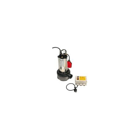 Pompe de relevage SEMISOM 130 H monophasé automatique - BBC - pompe vide cave - RS-pompes.
