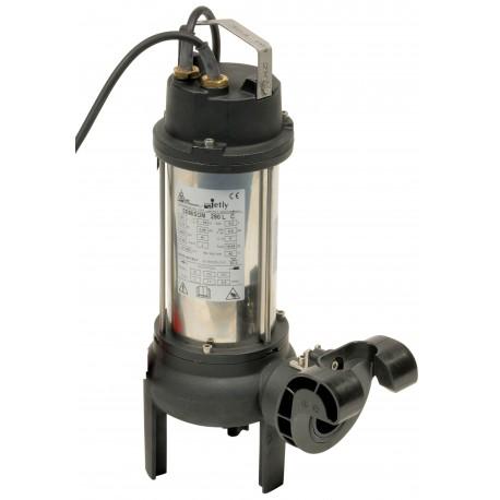 Pompe SEMISOM 290 monophasé + Griffe - pompe de relevage pour eaux chargées - RS-pompes.