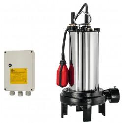 Pompe Dilacératrice SEMISOM 125 GR M Automatique - BBC - pompe de relevage - RS-pompes.