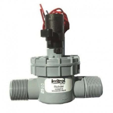 """Électrovanne IRRITROL 2400 MT 1"""" MM 24 Volts pour l'arrosage automatique du jardin - RS-pompes."""