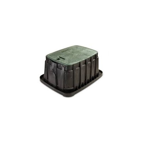 Regard d'arrosage rectangle SUPER JUMBO VB - Rain Bird - tabouret HDPE - RS-pompes.