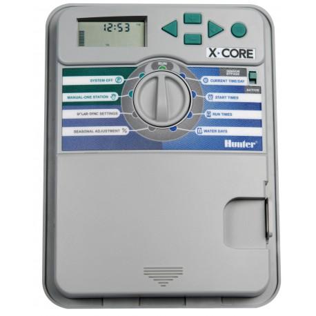 Programmateur Hunter X-Core i 4 stations pour l'arrosage automatique - RS-pompes.
