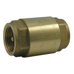 """Clapet anti retour 1""""1/4 laiton 305 - SFERACO -clapet à ressort - RS-Pompes."""