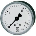 Manomètre glycérine 0 - 16 bars axial diamètre 63