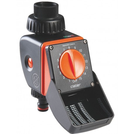 Programmateur de robinet LOGICA 1 station - CLABER - programmateur d'arrosage - RS-Pompes.