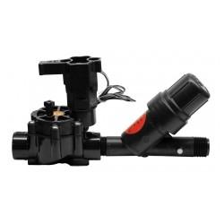 """Kit XCZ 3/4"""" 24 volts complet - Rain Bird - électrovanne + filtre + régulateur de pression - RS-Pompes."""