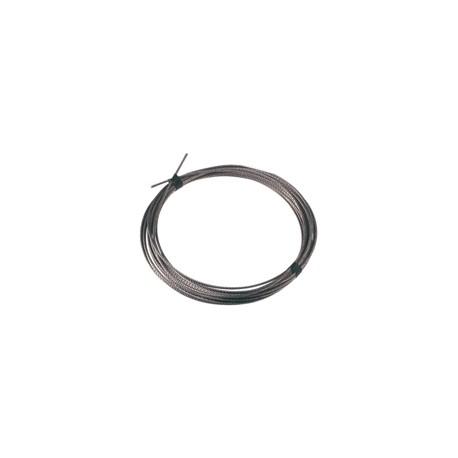 Câble inox diamètre 4 mm - pour suspendre une pompe.