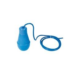 """Flotteur IFB Bleu """"court"""" avec 10 mètres de câble pour la régulation en relevage - Flotteur et sonde de niveau - RS-Pompes."""