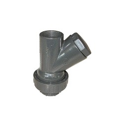 """Clapet à boule en PVC type CH-RU 1""""1/4 pour cuve de relevage - Accessoire de relevage - RS-Pompes."""