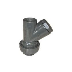 """Clapet à boule en PVC type CH-RU 1""""1/2 pour cuve de relevage - Accessoire de relevage - RS-Pompes."""