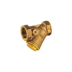 """Filtre à tamis en bronze 1""""1/4 - Filtre à sable avec tamis inox - RS-Pompes."""