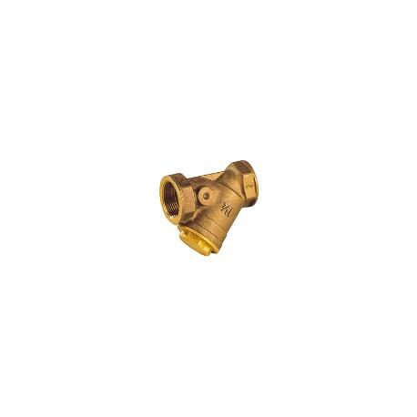 """Filtre à tamis en bronze 4"""" - Filtre à sable avec tamis inox - RS-Pompes."""