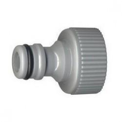 """Nez de robinet 1"""" femelle - 26x34 - plastique - Raccord d'arrosage - RS-Pompes."""