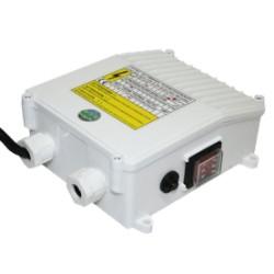 """Coffret de démarrage 0.37 kW  16 µF - Moteur MS 402 GRUNDFOS - Accessoire pompe de forage 4"""" - RS-Pompes."""