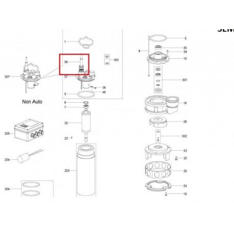 Câble alimentation Pompe S 635 Monophasée