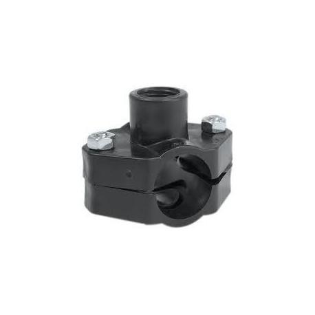 """Collier de prise en charge Ø 50x3/4"""" - IRRITEC - Accessoire d'arrosage automatique - Rs-Pompes."""