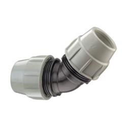 Coude à 45° égal 50 mm - PLASSON