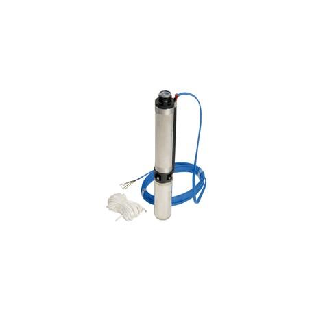 """Pompe de forage 4"""" DCS4-B12 triphasée - DAB - pompe immergée - RSpompe."""