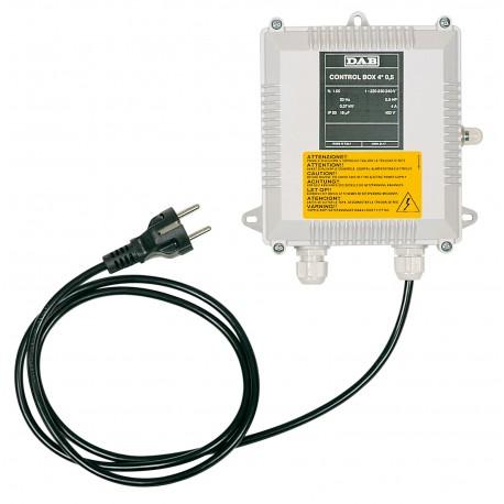 Coffret de démarrage 0,25 kW  12,5 µF - pompe immergées et moteur DAB et Franklin - RS pompe