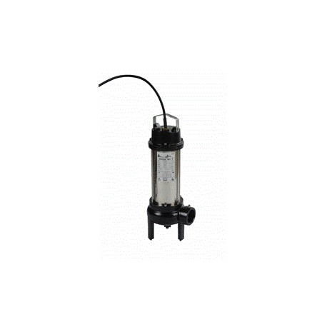 Pompe SEMISOM 490 sortie horizontale monophasée - BBC - Pompe de relevage d'eaux usées - RS-Pompes.